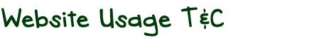 title_websiteusagetnc