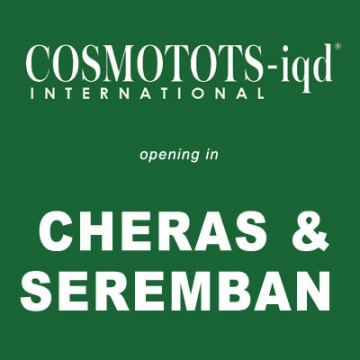 Now opening in Cheras and Seremban