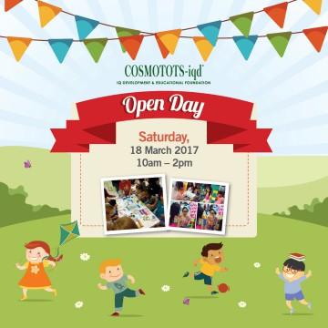 COSMOTOTS-iqd Subang OPEN DAY