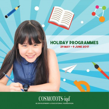 COSMOTOTS-iqd Holiday Programmes
