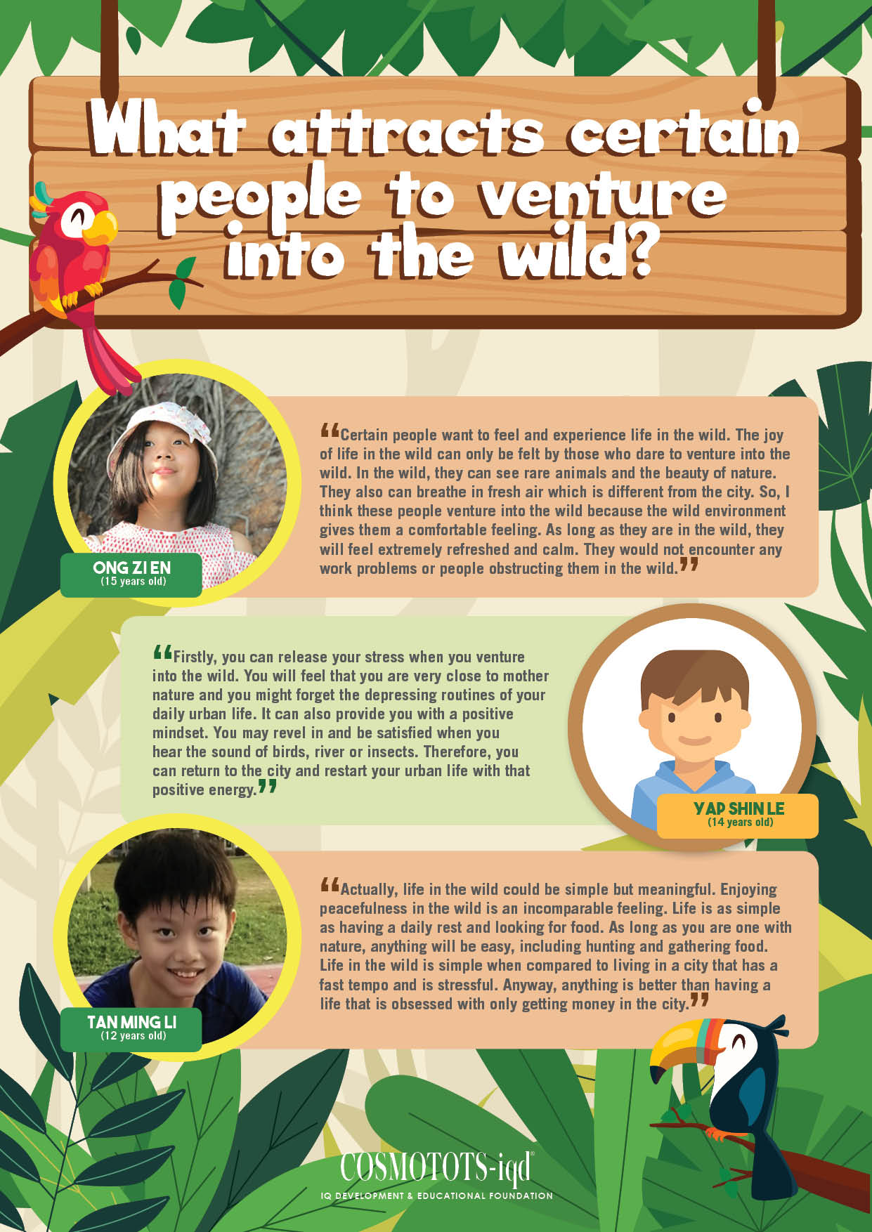 Opinions Poster_Venture into the wild-FINAL