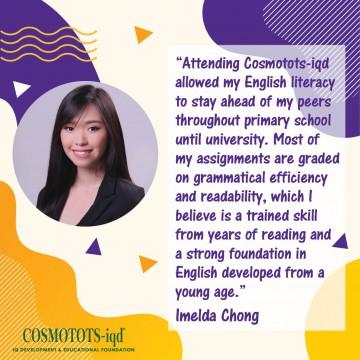 Our Alumni – What Imelda says…