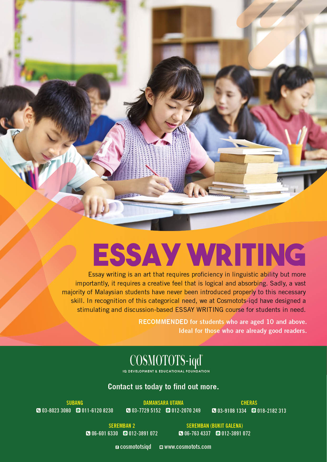 Essay Writting Poster-2